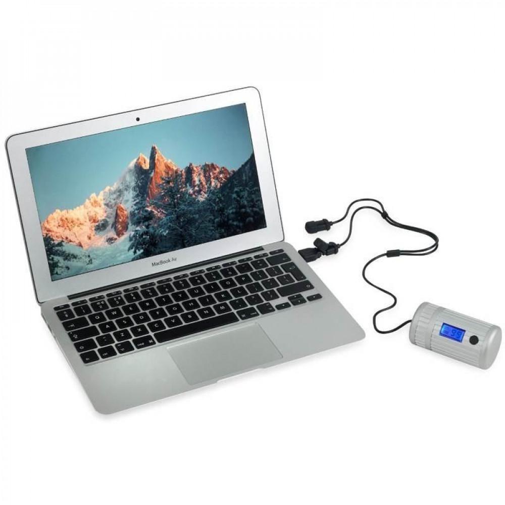 Batterie étanche Powertraveller Powermonkey Explorer 2 grise