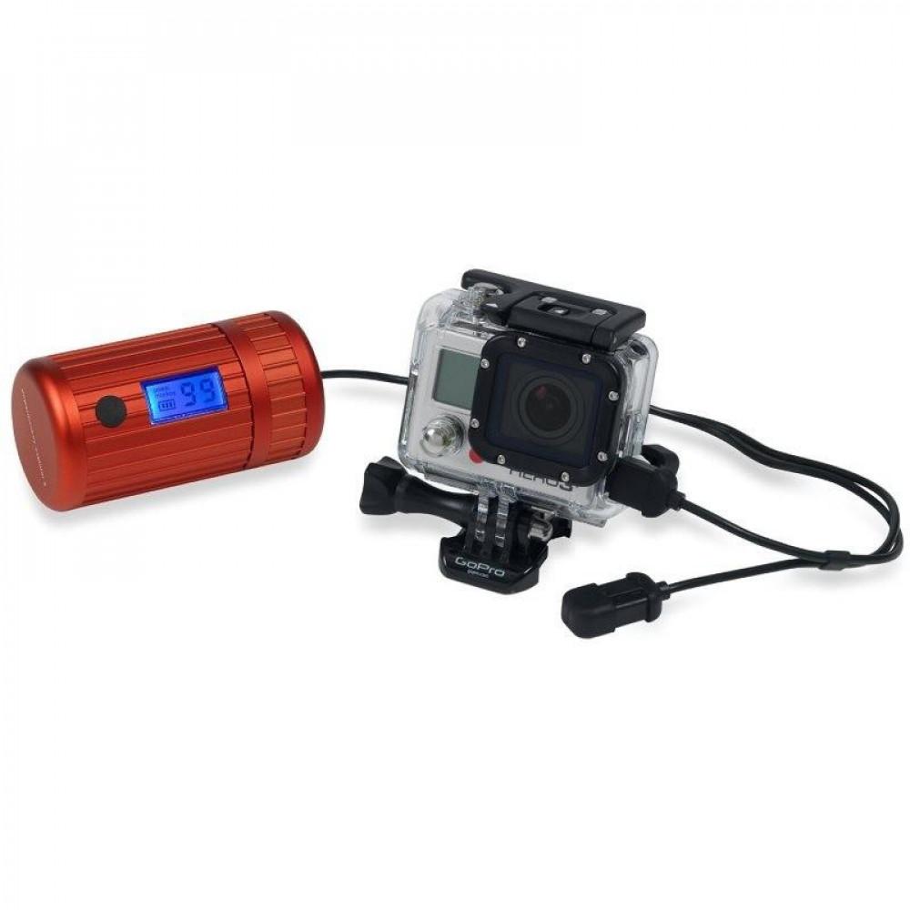 Batterie étanche Powertraveller Powermonkey Explorer 2 rouge
