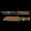 Couteau tactique avec étui lame 18 cm