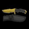 Couteau poignard lame dorée 11.3 cm