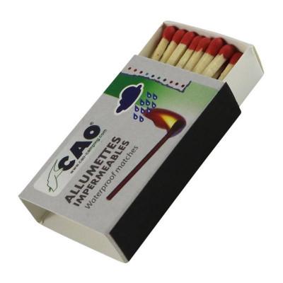 Allumettes imperméables CAO (lot de 4 boîtes)