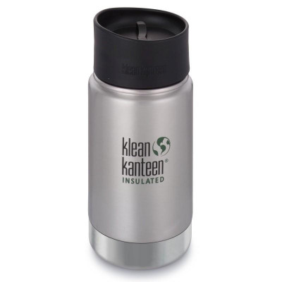 Gourde isotherme Klean Kanteen 0,35L Wide Insulated inox