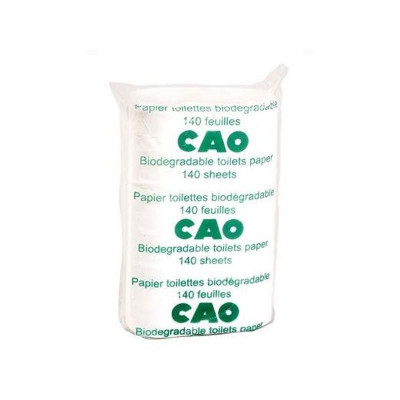 Papier toilette biodégradable CAO (lot de 2 paquets)