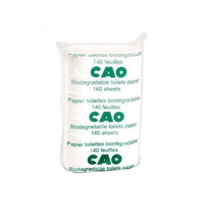 Papier toilette biodégradable CAO (lot de 2 paquets)