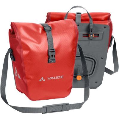 Sacoche avant vélo Vaude Aqua Front rouge (lot de 2)