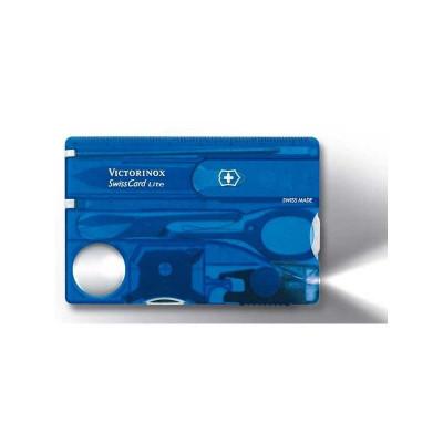 SwissCard Lite Victorinox bleue