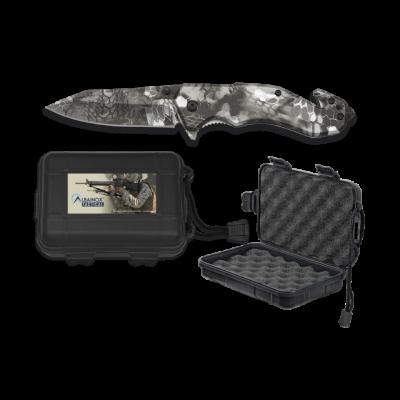 Couteau pliant Albainox Phyton camouflage