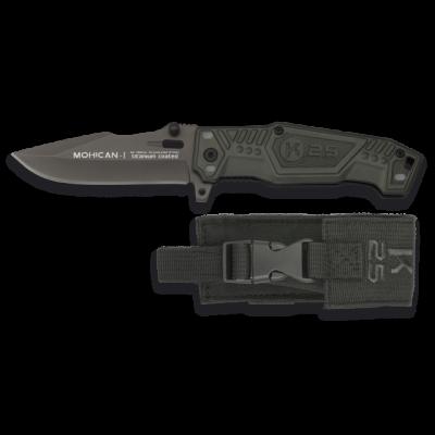 Couteau pliant K25 MOHICAN I noir