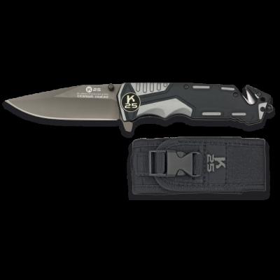 Couteau pliable gris noir lame 9.4 cm