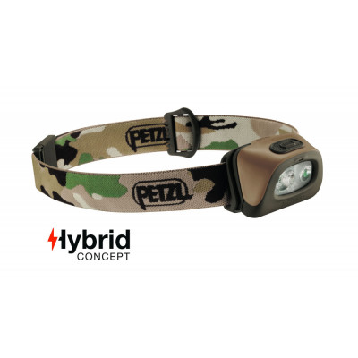 Lampe frontale Hybrid PETZL 350 Lumens camouflage