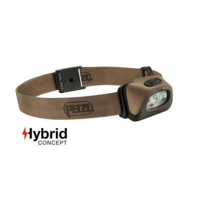Lampe frontale Hybrid PETZL 350 Lumens sable