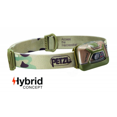 Lampe frontale Hybrid PETZL 300 Lumens camouflage
