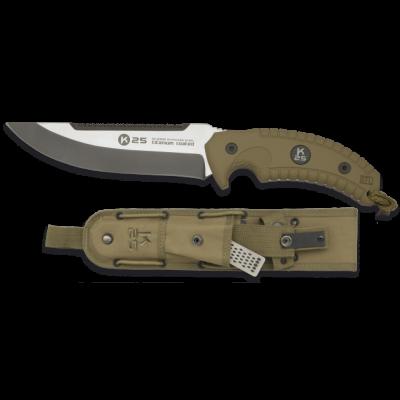 Couteau poignard de survie K25 lame 16.5 cm modèle professionnel