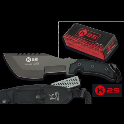 Couteau poignard de survie K25 lame 20 cm modèle professionnel
