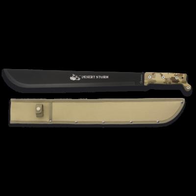 Machette coupe coupe Desert Storm 55 cm
