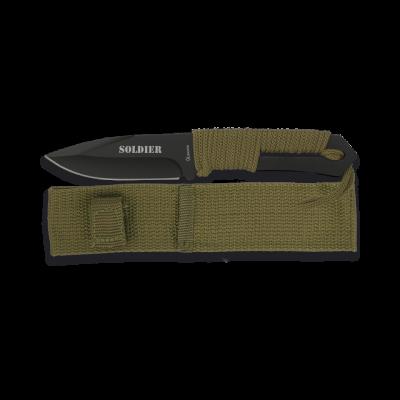 Couteau de survie paracorde Soldier lame 9.8 cm