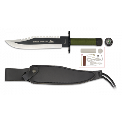 Couteau de survie Dark Forest 33.4 cm