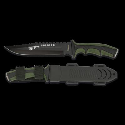 Couteau poignard Soldier Vert lame 19 cm