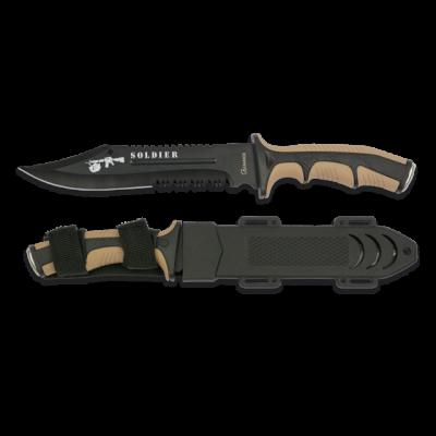 Couteau poignard Soldier coyote lame 19 cm