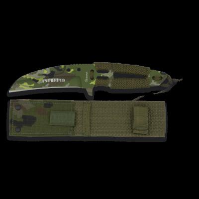 Couteau paracorde camouflage 21.5 cm