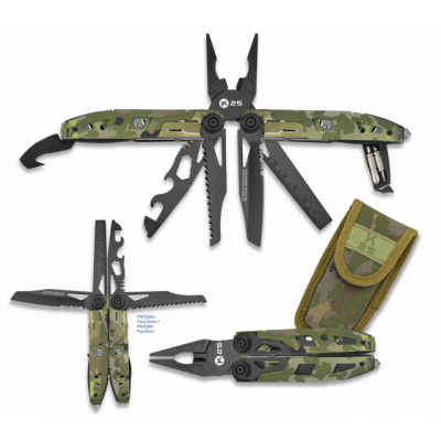 Pince 17 outils K25 camouflage