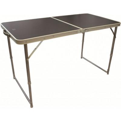Table compacte pliante double