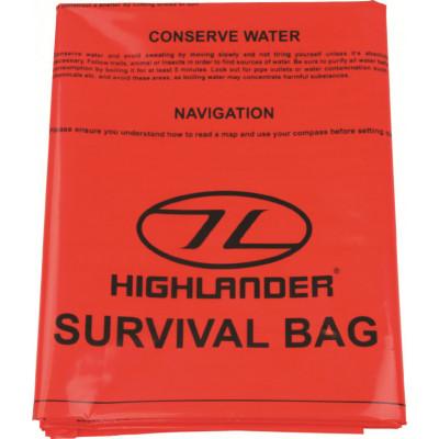 Double sac de survie d'urgence 210 x 120 cm