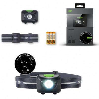 Lampe frontale 300 lumens avec détecteur mouvement