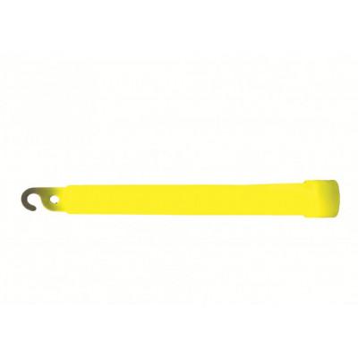 Bâton lumineux de survie jaune 12h
