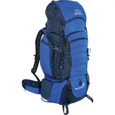 Sac à dos randonnée 85L expédition bleu