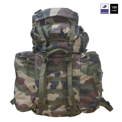 Sac à dos militaire 100L avec sur sac