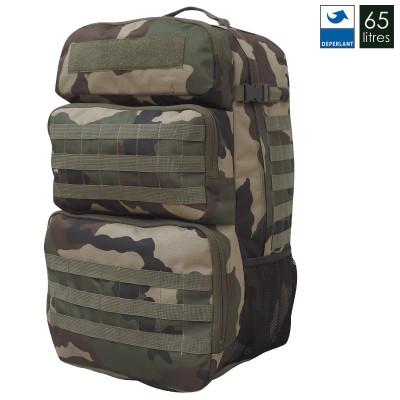 Sac à dos militaire double acces 65L
