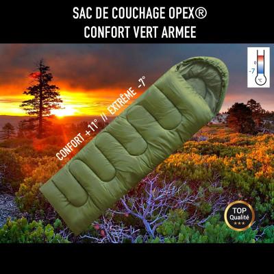 Sac de couchage Opex vert armée