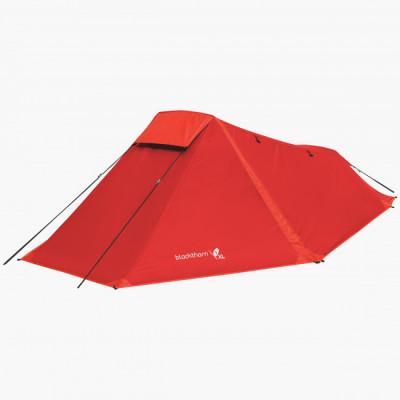 Tente randonnée blackthorn rouge 1 personne
